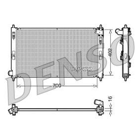 DRM45023 DENSO Aluminium Netzmaße: 700x402x16 Kühler, Motorkühlung DRM45023 günstig kaufen