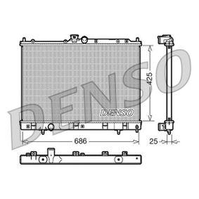 DRM45028 DENSO Aluminium Netzmaße: 425x686x25 Kühler, Motorkühlung DRM45028 günstig kaufen