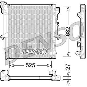 DRM45035 DENSO Netzmaße: 525x632x27 Kühler, Motorkühlung DRM45035 günstig kaufen