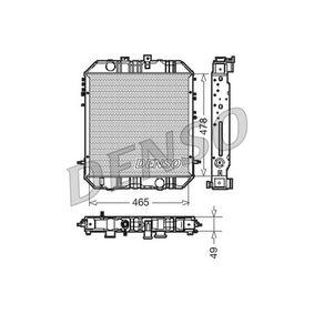 DRM45200 DENSO Kupfer Netzmaße: 465x478x49 Kühler, Motorkühlung DRM45200 günstig kaufen