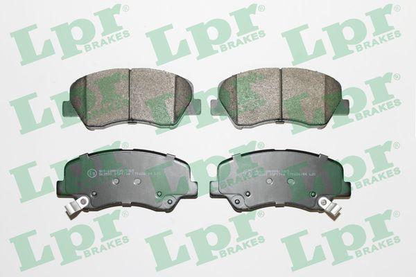 Bremsbelagsatz Scheibenbremse LPR 05P1744