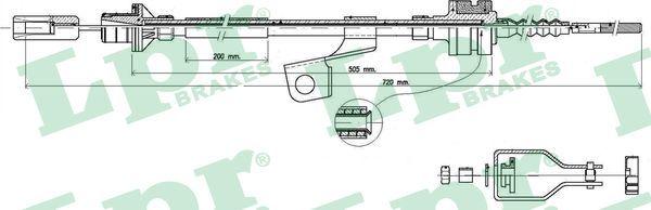 LPR: Original Kupplungsseilzug C0118C ()