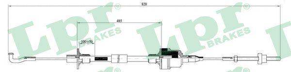 LPR Seilzug, Kupplungsbetätigung C0129C