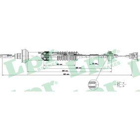 C0156C LPR Länge: 934/594mm, Nachstellung: mit automatischer Nachstellung Seilzug, Kupplungsbetätigung C0156C günstig kaufen