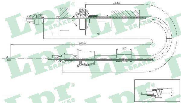 LPR: Original Kupplungsseil C0199C ()