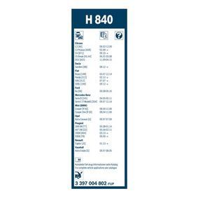 3 397 004 802 Wischblatt BOSCH in Original Qualität