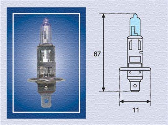 Lampada fendinebbia 002601100000 MAGNETI MARELLI — Solo ricambi nuovi