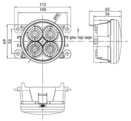 713120117010 Dienos metu naudojamų šviesų komplektas MAGNETI MARELLI 713120117010 Platus pasirinkimas — didelės nuolaidos