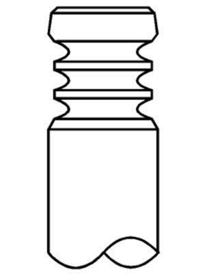 MAHLE ORIGINAL Inloppsventil till RENAULT TRUCKS - artikelnummer: 037 VE 31408 000