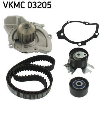 VKMC 03205 Wasserpumpe + Zahnriemensatz SKF Test