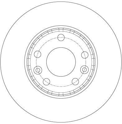 DF6072 Bremsscheibe TRW Test
