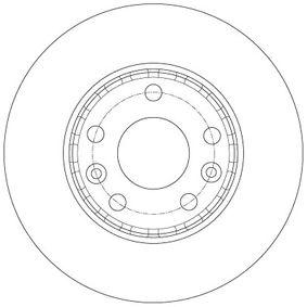 DF6072 Bremsscheiben TRW in Original Qualität