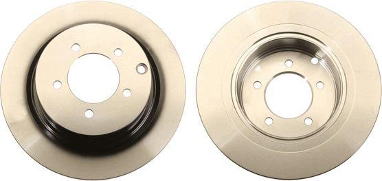 DF6177 TRW Voll, lackiert Ø: 302mm, Lochanzahl: 5, Bremsscheibendicke: 10mm Bremsscheibe DF6177 günstig kaufen