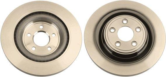 DF6295 TRW belüftet, lackiert Ø: 326mm, Lochanzahl: 5, Bremsscheibendicke: 20mm Bremsscheibe DF6295 günstig kaufen