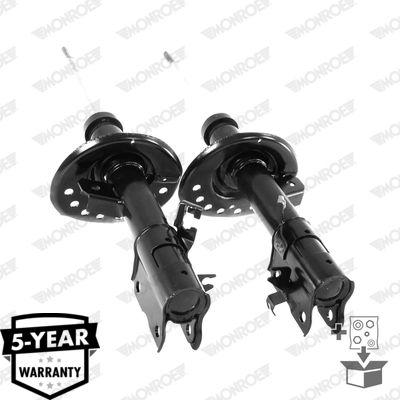 D0027 Stoßdämpfer MONROE Test