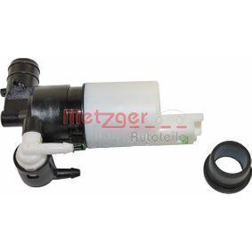 2220032 Waschwasserpumpe, Scheibenreinigung METZGER in Original Qualität