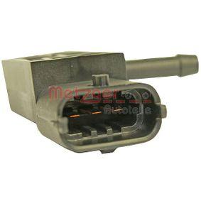 0906030 METZGER Partikelfilter, ohne Anschlussleitung, ORIGINAL ERSATZTEIL Sensor, Abgasdruck 0906030 günstig kaufen