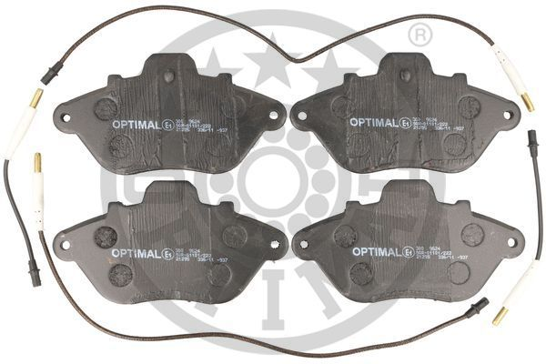 OPTIMAL Bremsbelagsatz, Scheibenbremse 9624