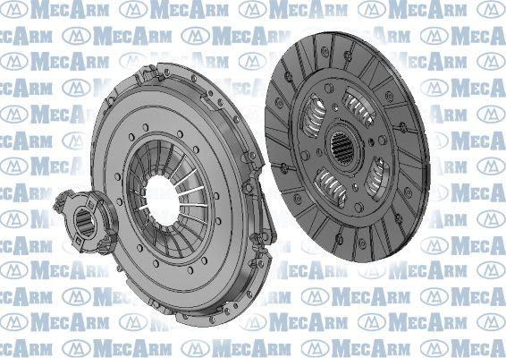 BMW Z1 1988 Clutch kit MECARM MK9587: