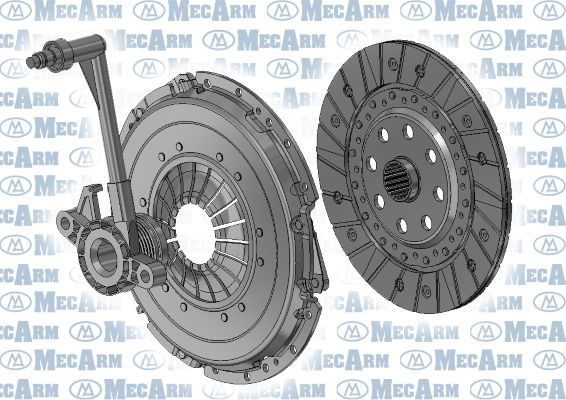 Clutch kit MK10011 MECARM — only new parts