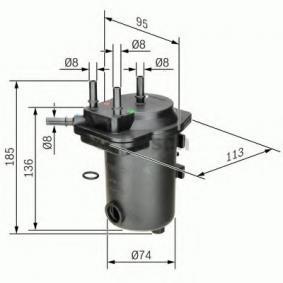 0 450 907 009 Spritfilter BOSCH - Markenprodukte billig