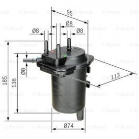 0 450 907 013 Spritfilter BOSCH - Markenprodukte billig