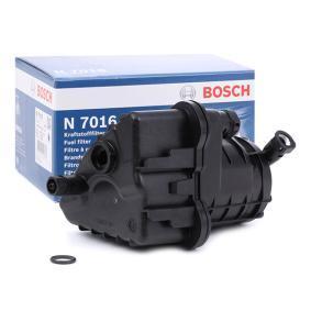 N7016 BOSCH Leitungsfilter Höhe: 188mm Kraftstofffilter 0 450 907 016 günstig kaufen