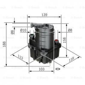0 450 907 016 diesel filter BOSCH in Original Qualität