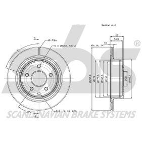 1815312261 Bremsscheibe sbs - Markenprodukte billig