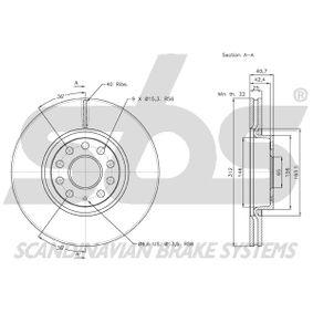18153147115 Disco de freno sbs - Productos de marca económicos
