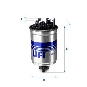24.108.00 UFI Kraftstofffilter 24.108.00 günstig kaufen