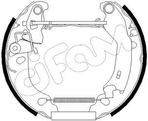 Original FIAT Bremsbacken 151-181