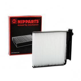 J1341015 NIPPARTS Partikelfilter Breite: 180mm, Höhe: 28mm, Länge: 185mm Filter, Innenraumluft J1341015 günstig kaufen
