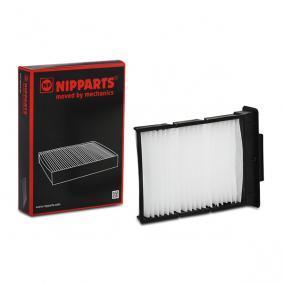 szűrő, utastér levegő NIPPARTS J1342024 - vásároljon és cserélje ki!