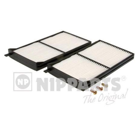 MAZDA DEMIO 2001 Filter Innenraumluft - Original NIPPARTS J1343004 Breite: 100mm, Höhe: 18mm, Länge: 170mm
