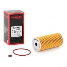 N1310307 NIPPARTS Filtereinsatz Innendurchmesser: 20mm, Ø: 64mm, Höhe: 131mm Ölfilter N1310307 günstig kaufen