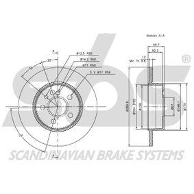 1330853924 sbs Length: 282,00mm Brake Hose 1330853924 cheap