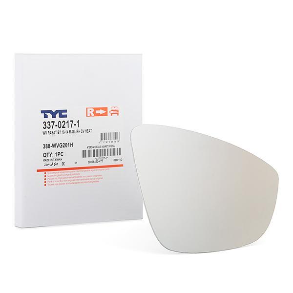 TYC Spiegelglas, Außenspiegel 337-0217-1