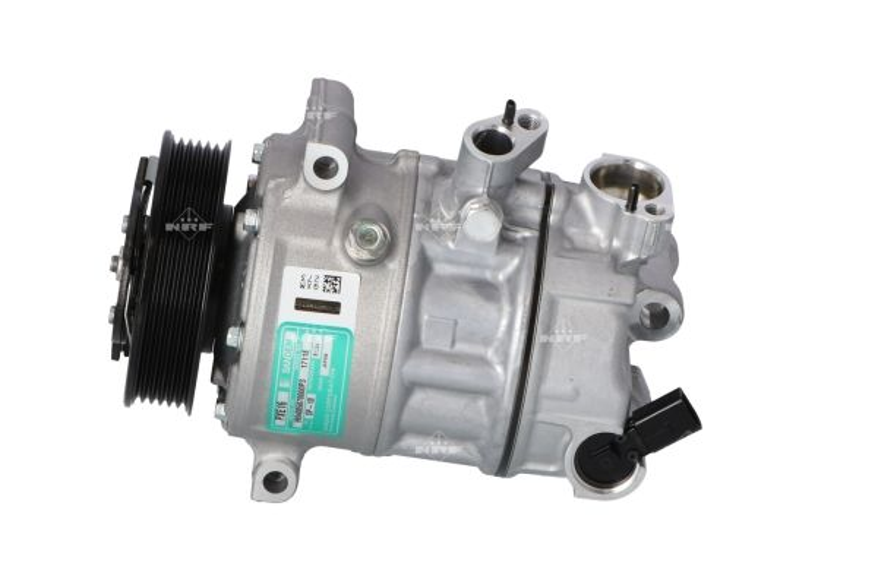 32147G NRF PAG 46, Kältemittel: R 134a, mit PAG-Kompressoröl, EASY FIT Riemenscheiben-Ø: 110mm, Anzahl der Rillen: 6 Klimakompressor 32147G günstig kaufen