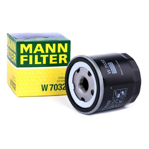Oliefilter MANN-FILTER W 7032 Anmeldelser