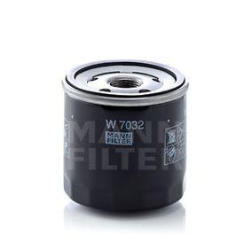 W 7032 Filtro olio MANN-FILTER Test