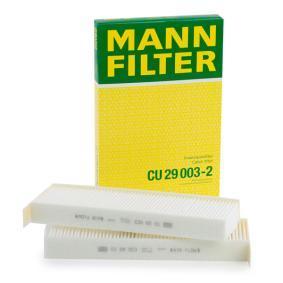 Aria Abitacolo Filtro Mann Filter CU 17 003