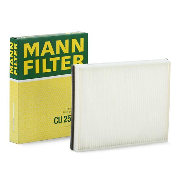 MANN-FILTER: Original Pkw-Heizung CU 25 007 (Breite: 202mm, Höhe: 36mm, Länge: 260mm)