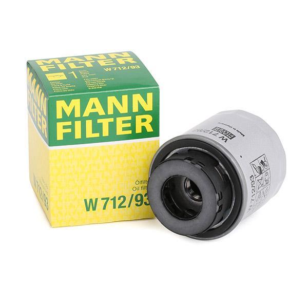 MANN-FILTER | Ölfilter W 712/93