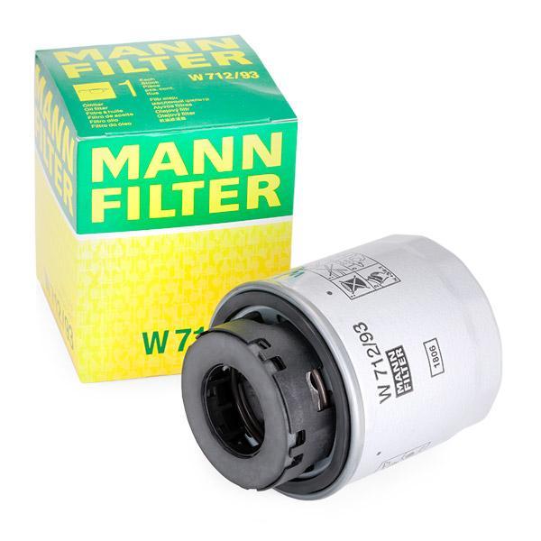 W71293 Motorölfilter MANN-FILTER W 712/93 - Große Auswahl - stark reduziert
