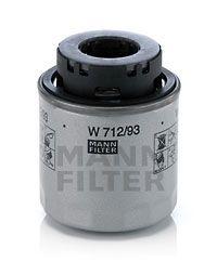 W 712/93 Filtre à huile MANN-FILTER Test