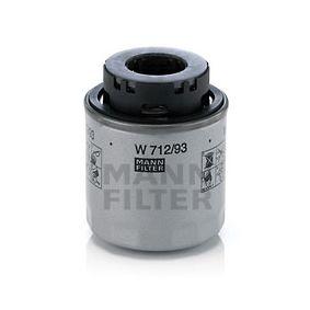 W 712/93 Ölfilter MANN-FILTER Test