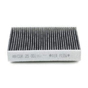 Mann Filter CU 25 001 Aria Abitacolo Filtro