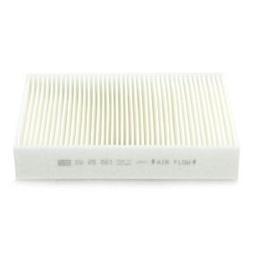 CU 25 001 Filter, Innenraumluft MANN-FILTER - Markenprodukte billig