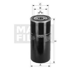 Ölfilter MANN-FILTER WD 13 145/18 mit 16% Rabatt kaufen